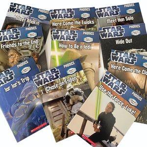 Star Wars Phonics Books 1-10